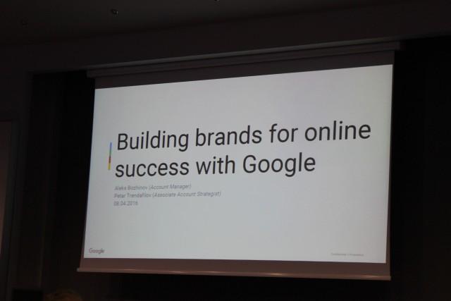 Петър Трендафилов и Алекс Божинов от централата на Google в Дъблин - как да изградим бранда популярен!