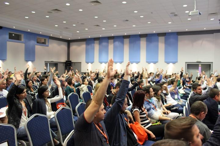 Активност по време на конференцията