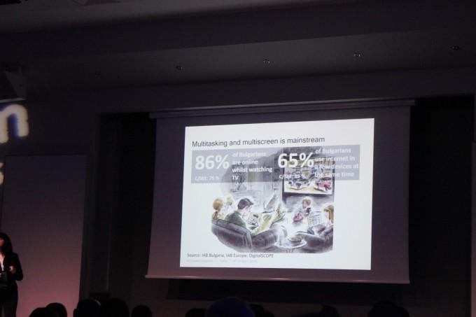 Жанет Найденова - слайд със статистики