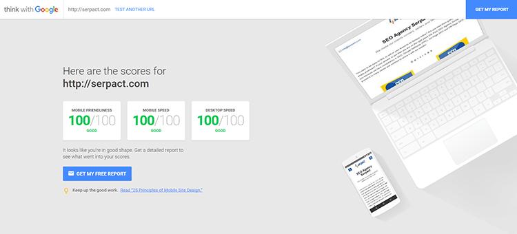 Този инструмент на Google обобщава данните за скорост и мобилно удобство