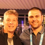 На снимката Danny Sullivan от Search Engine Land и Никола Минков от Serpact след разговор в SMX West