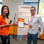 Награждаването на Никола Минков от Serpact
