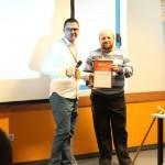 Никола Минков награди Петър Николов на Online Advertizing Conference