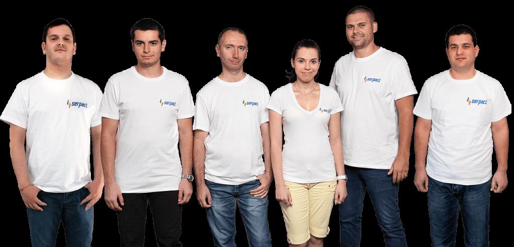 рез 2017 година екипът на Serpact™ успява да се развива и към екипа на фирмата се присъединиха двама нови специалисти.
