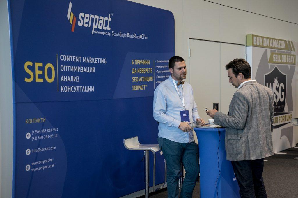 Собственикът на SEO агенция Serpact Никола Минков взе участие на тазгодишния Ecomm congress