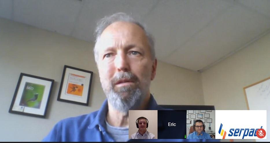 Ерик Енг е един от ветераните в SEO бранша, изключително ерудиран специалист, познаващ SEO из основи и следящ неговото развитие.
