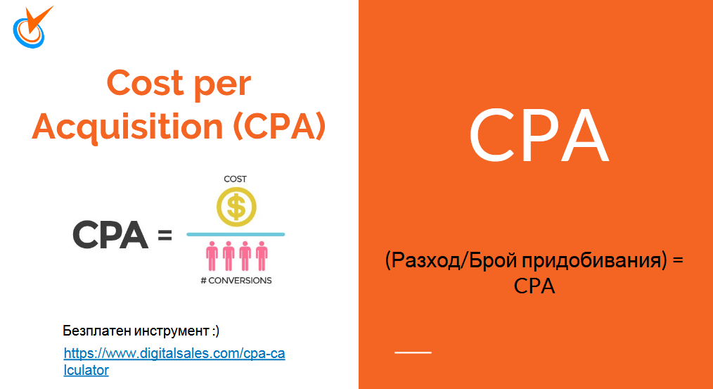CPA - Cost per Acquisition -