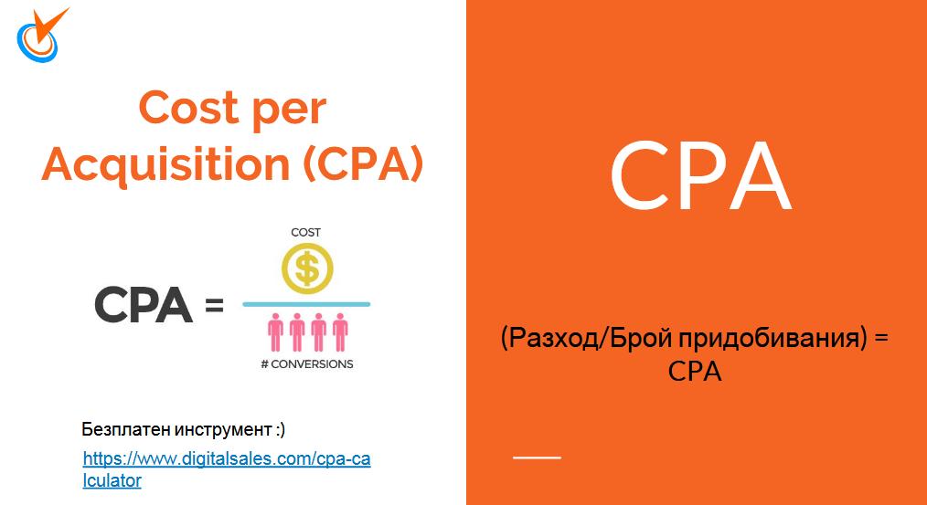 CPA - Cost per Acquisition -