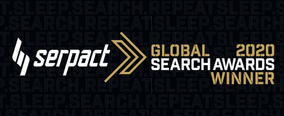 Serpact Global Search Awards Winner