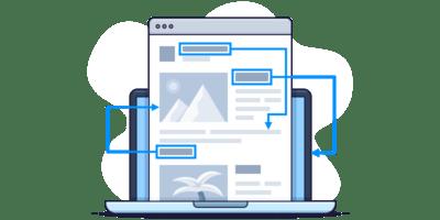 blog internal links