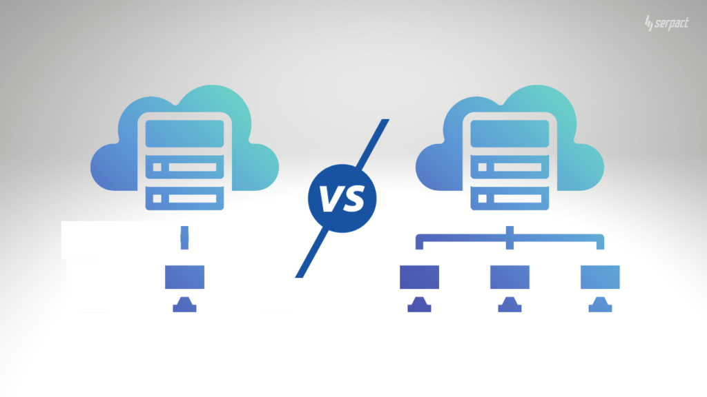 shared vs private hosting