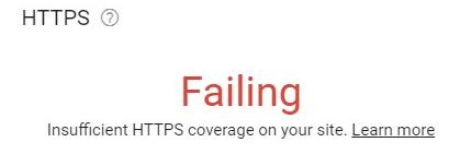 https failing